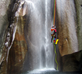 Helikopter - Canyoning